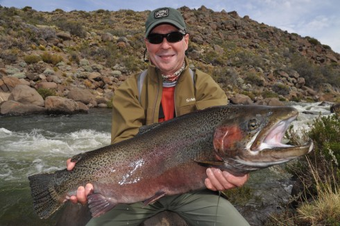 Jurasic Lake Fly Fishing Patagonia 5
